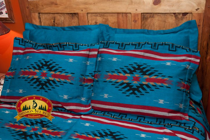 Southwestern Pillow Shams : Southwest Bedding Bedspread -Maricopa Queen eBay