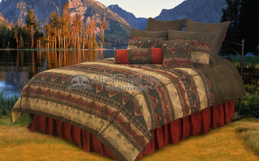 southwest comforter set del sierra super king